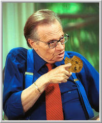 Larry King cookie
